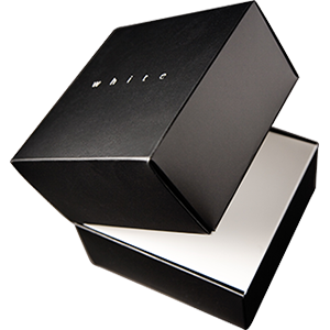 Custom designed luxury packaging using a variety of production methods and materials to achieve stunning results.
