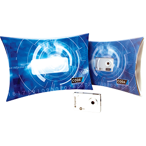 Pillow packs are perfect as a point of sale presentation pack or for sending items through the post.