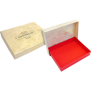 Custom made Paper over Board presentation products combine textured coloured stocks or litho printed sheets mounted on to rigid board, giving a professional finish to boxes and ring binders.